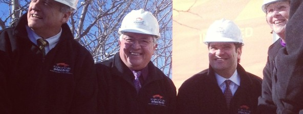 Bill Ritter, Mayor Cecil Gutierrez, Mayor Karen Weitkunat, Robbie Diamond