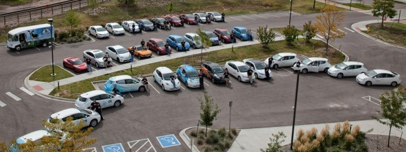 33 EVs Gathered for National Plug In day