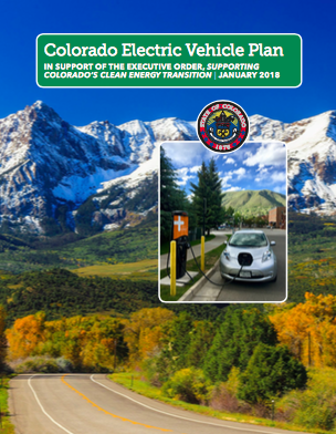 Check out Colorado's EV Plan, Published in 2018